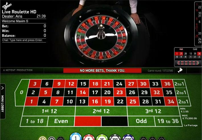 Live Dealer Roulette by NetEnt 🥇 Play online!
