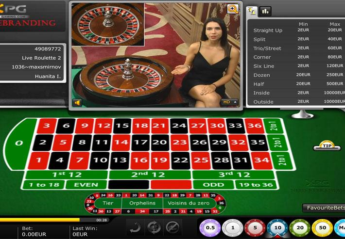 Live Roulette By Xprogaming Play Online
